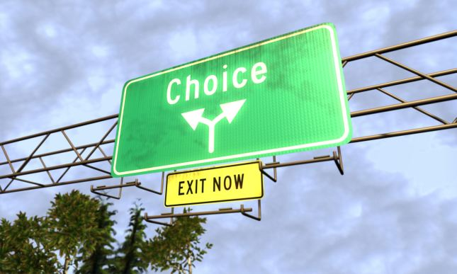 Its your Choice _ Sourced from Google