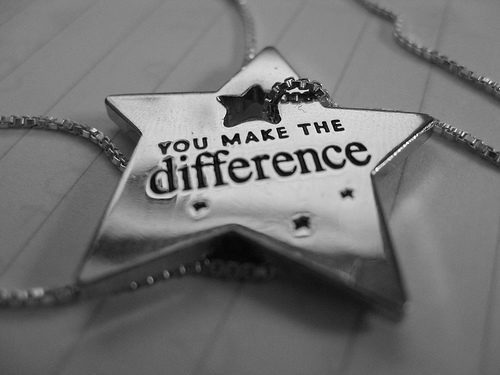 You make the difference _ Sourced from Google